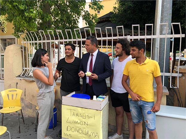 CHP'li Vekil Başarır, Tarsus'ta Vatandaşlarla Buluştu