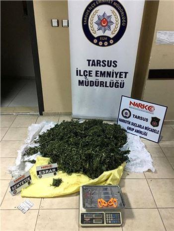 Uyuşturucu Tacirlerine Operasyon Düzenlendi