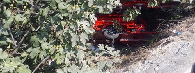 Bir Kişi Trafik Kazasında Yaralandı