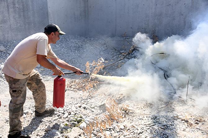 Tarsus'ta Yangın Oranları Yüzde 40 Azaldı