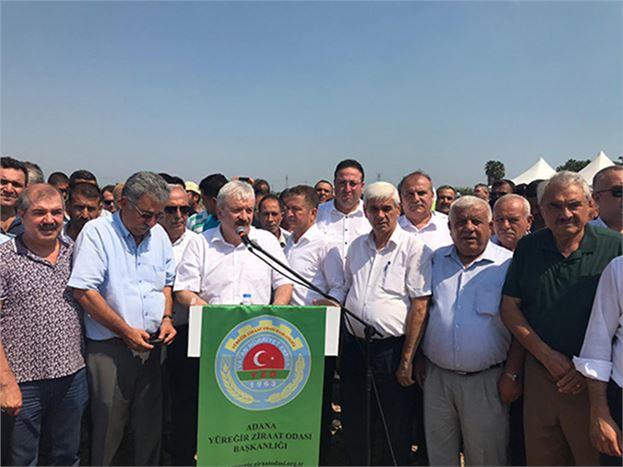 Başkan Veyis Avcı, Adana'da Düzenlenen Ortak Basın Açıklamasına Katıldı