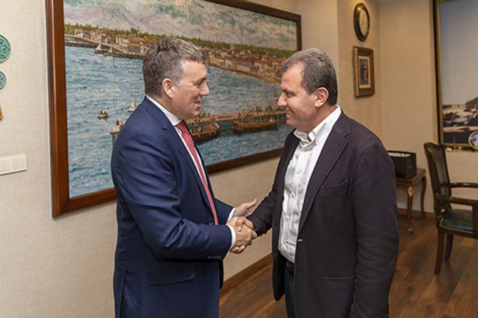 Vodafone Ceo'su Deegan'dan, Başkan Seçer'e Ziyaret