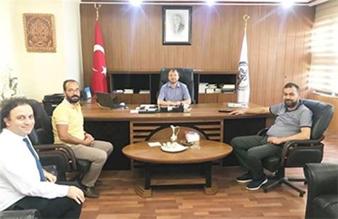 Medical Park Tarsus Hastanesi Yöneticileri, Müftü Can ile Bir araya Geldi