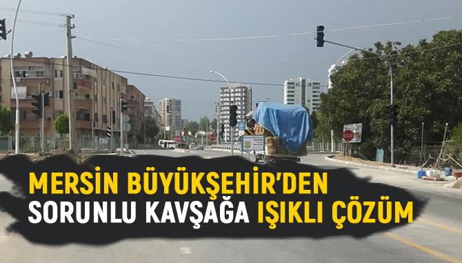 Ölümlü Kazaların Yaşandığı Sorunlu Kavşak, Mersin Büyükşehir'in Çalışması İle Çözüldü
