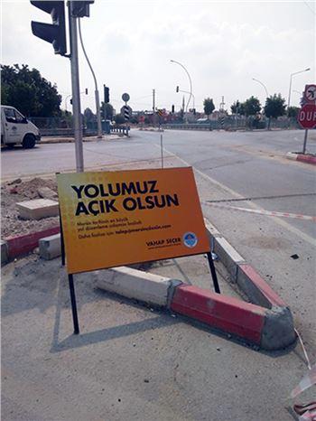 Tarsus'ta sorunlu kavşağa Büyükşehirden Çözüm