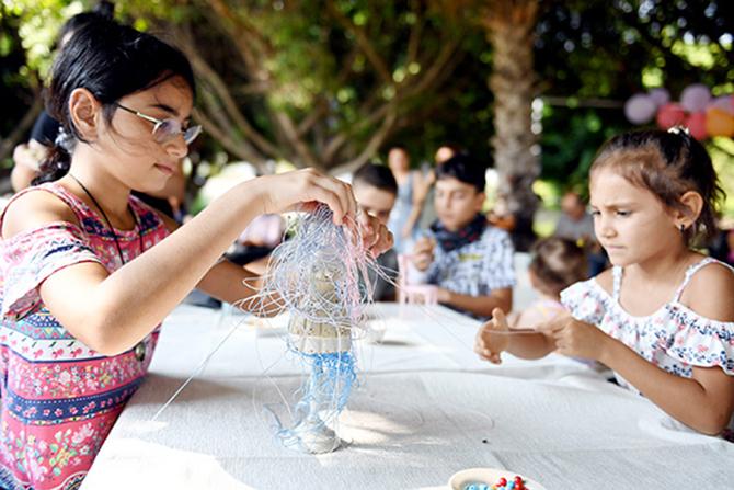 Büyükşehir Çocuklara Paylaşımı Aşılıyor