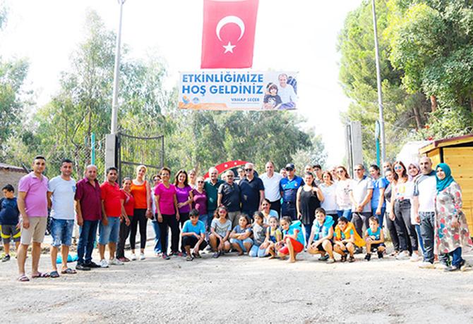 Tarsus Gençlik Kampında Çocuklar Toprak ve Su İle Buluşuyor