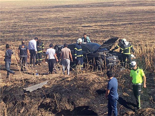 Vahap Seçer'in Koruma Aracı Kaza Yaptı