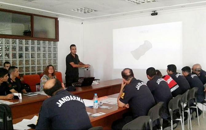 Tarsus İlçe Jandarma Personeline, Su Ürünlerine Dair Eğitim