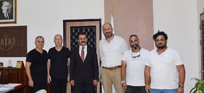 Gazeteciler Cemiyeti Başsavcı Tiryaki'yi Ziyaret Etti
