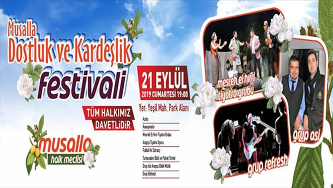 Musalla'da Festival Yapılacak