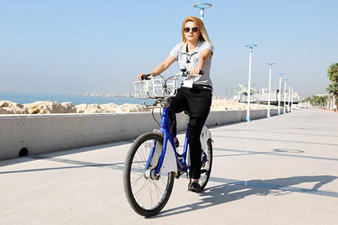 """Büyükşehir Belediyesi, """"Yürüyüş ve Bisiklet Sürmeye"""" Çağırıyor"""
