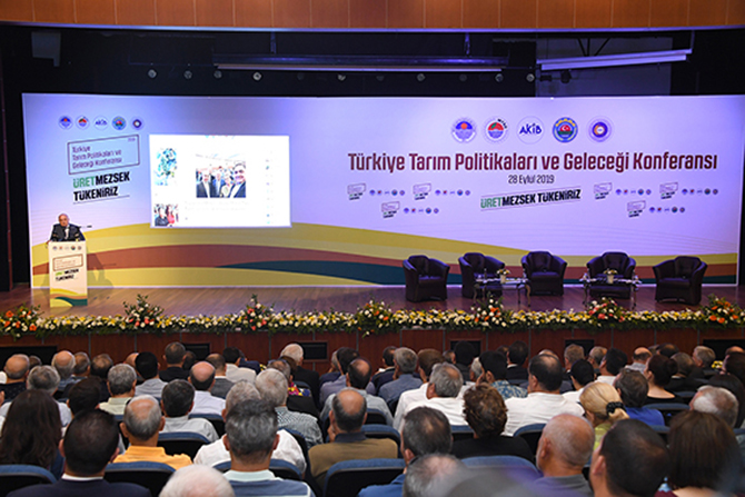 'Türkiye Tarım Politikaları ve Geleceği Konferansı' Yapıldı