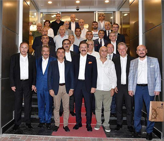 TOBB Başkanı Rifat Hisarcıkoğlu, Tarsus'u Ziyaret Etti