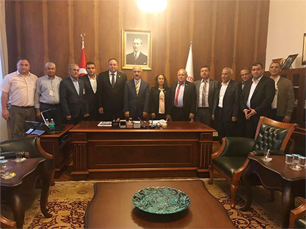 Ziraat Odası Yöneticileri, Ankara'ya Çıkartma Yaptı