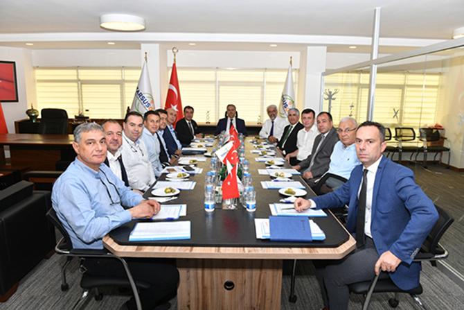 Tarsus OSB Yönetim Kurulu ve Müteşebbis Heyet Toplantısı Gerçekleşti