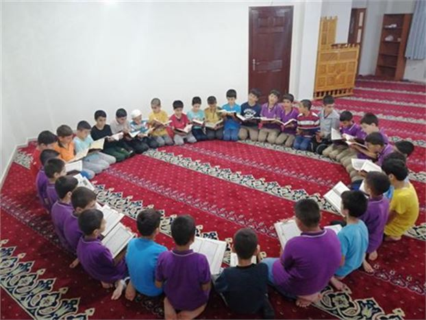 Kuran Kurslarındaki Öğrenciler, Mehmetçik İçin Zafer Duaları Okudular