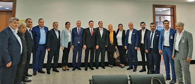 AK Partililer, Bölge Milletvekillerini Ziyaret Etti