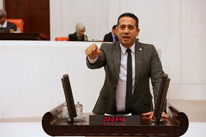 """CHP Mersin Milletvekili Ali Mahir Başarır, """"Ciğerlerimiz Yanıyor"""""""