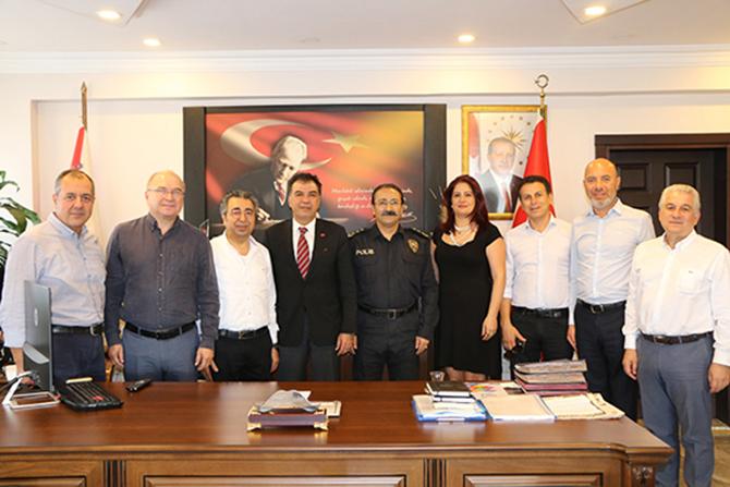 Tarsus TSO'dan Emniyet Müdürüne Ziyaret