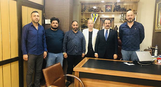 Cumhuriyet Başsavcısı Ramazan Murat Tiryaki, Gazeteciler Cemiyeti Yönetim Kurulu Üyeleri ile Buluştu