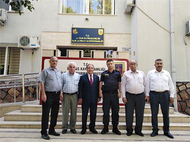 Başkan Ömer Kurnaz ve Yönetim Kurulu Üyeleri, Boyacıoğlu ve Metin'i Ziyaret Etti