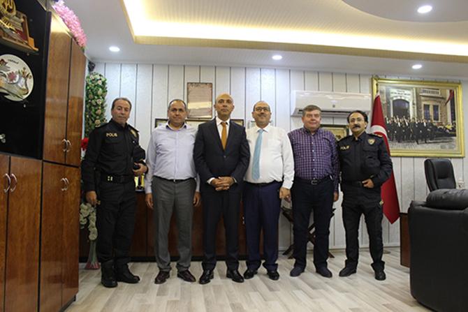 Mersin İl Emniyet Müdürü Mehmet Şahne, Başkan Duran Şen ile Buluştu