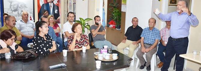 Gazeteci- Yazar Erol Yıldız, Tarsus ADD'de Konuştu