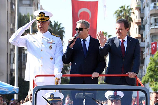 Mersin'de Cumhuriyet Bayramı Coşkulu Geçti
