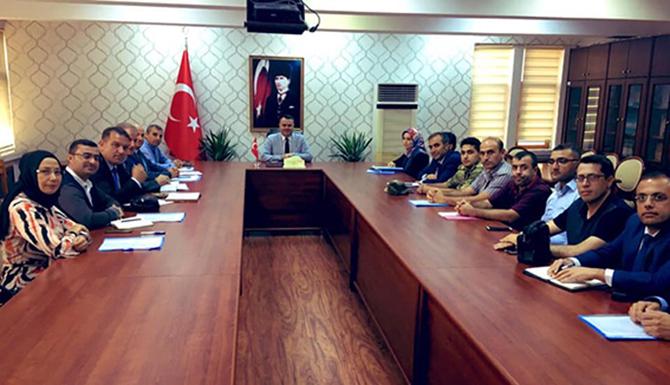 10 Kasım İçin Toplantı Yapıldı