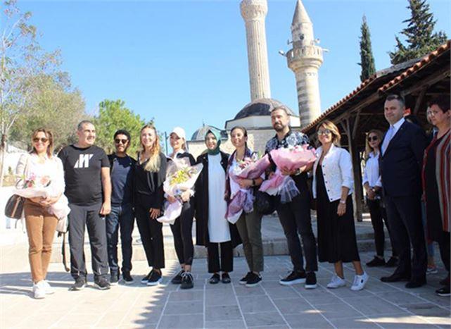 Kültür ve Turizm Bakanı Ersoy'un Eşi  Pervin Ersoy, Tarsus'a Geldi