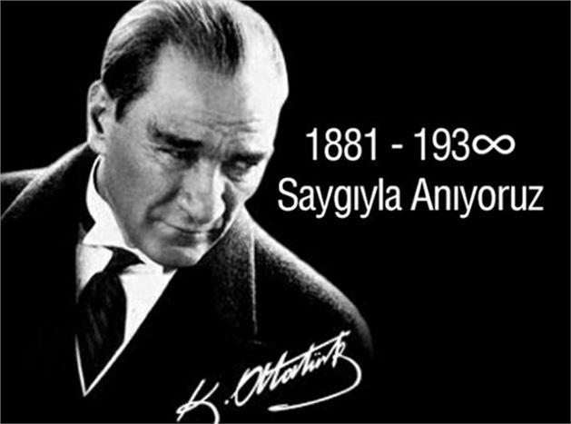 Ulu Önder Mustafa Kemal Atatürk, Törenlerle Anılacak