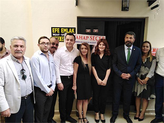 Genç Avukat Seda Dikiciler, Avukatlık Bürosunu Açtı