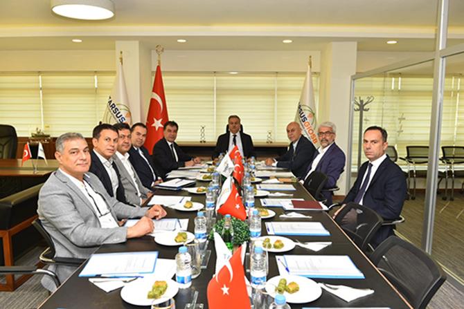 Tarsus OSB, Kasım Ayı Toplantısı Yapıldı