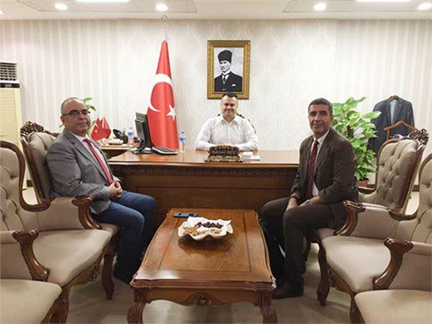 BM Ankara Bürosu Yetkilileri, Kaymakam Otcu ile Görüştüler