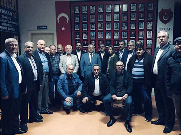 Türkiye Muhtarlar Konfederasyon Başkanı Aktürk, Tarsuslu Muhtarlarla Buluştu