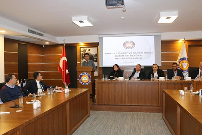 TSO, Kasım Ayı Meclis Toplantısı Yaptı