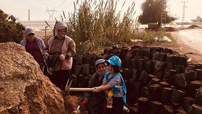 'Haydi Gel Köyümüze Geri Dönelim' Projesinde Çocuklar Çok Mutlular