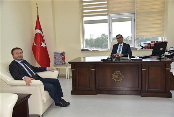 Tarsus Müftüsu  Ali Can, Demirci ve Seçer'i Ziyaret Etti