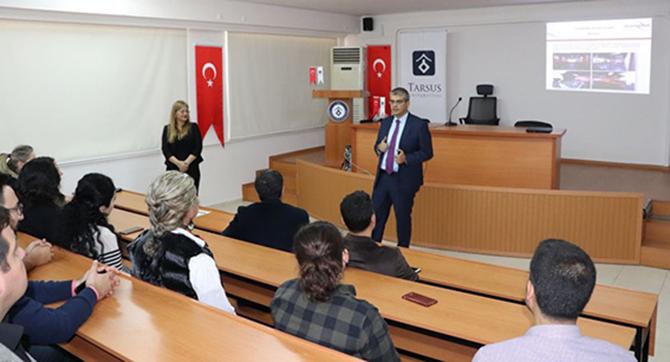 Tarsus Üniversitesinde 'Teknopark' Konferansı Verildi