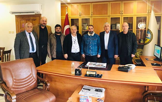TGC Yönetimi, Üç Oda Başkanı ile Bir araya Geldi