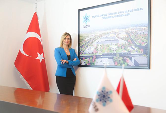 """TÜİOSB Başkanı Balta: """"Bölgesel Enerjinin Kaynağı Kadınlar Olacak"""""""