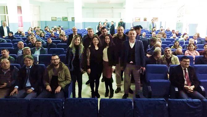 'Ortaokulunda Hibe Programları Proje Başvurusu Bilgilendirme Toplantısı' Yapıldı