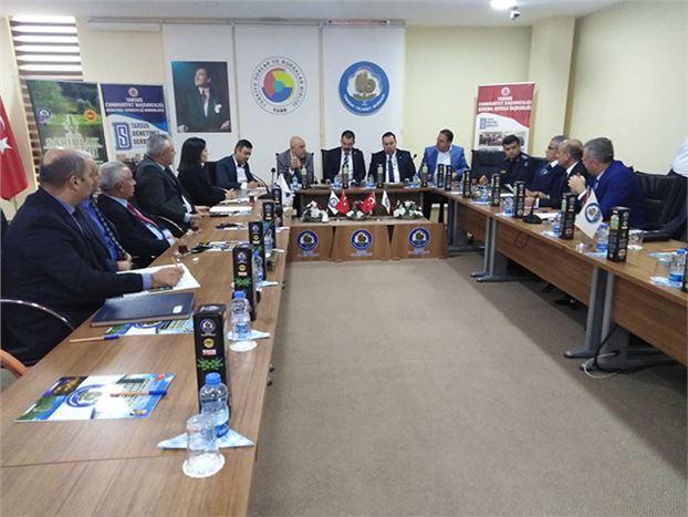 Koruma Kurul Toplantısı Üyeleri Yılın Toplantısını Yaptı