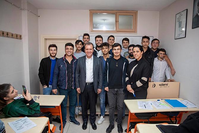 Seçer'den, Öğrencilere Sürpriz Ziyaret
