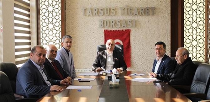 Ticaret Borsası Yılın İlk Yönetim Kurulu Toplantısını Yaptı