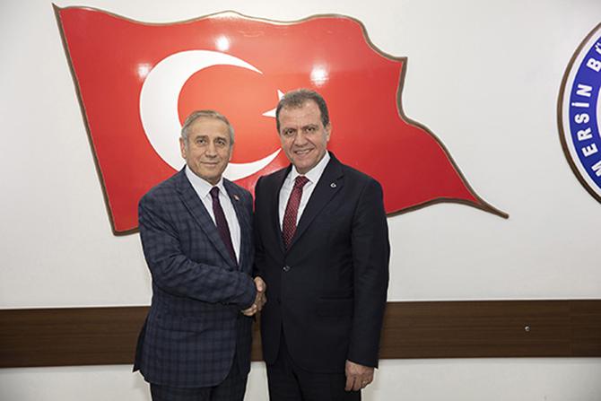 CHP Genel Başkan Yardımcısı Yıldırım Kaya'dan, Başkan Seçer'e Ziyaret