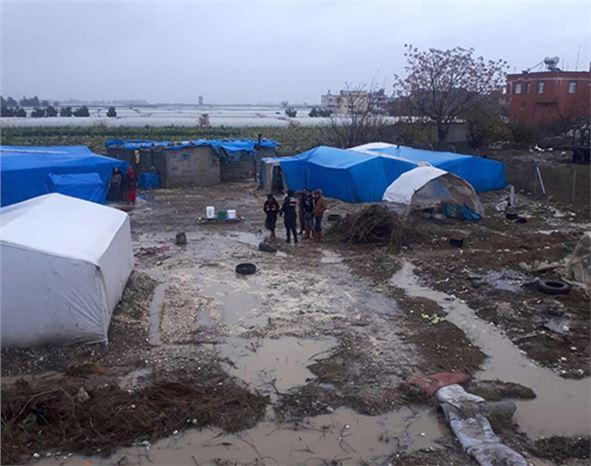 Büyükşehir, Çamlıyayla ve Tarsus'ta Yağmur ve Karla Mücadeleye Devam Ediyor