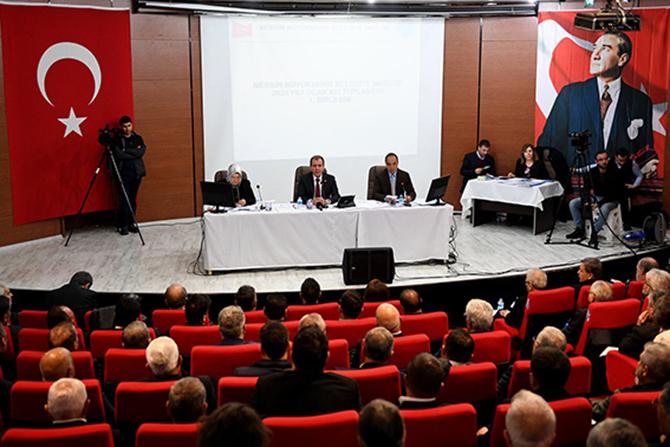 Büyükşehir Belediye Meclisi, 2020'nın İlk Toplantısını Yaptı