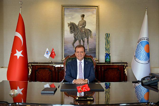 """Mersin Büyükşehir Belediye Başkanı Vahap Seçer, """"Çalışan Gazeteciler Günü'nü Kutluyorum"""""""